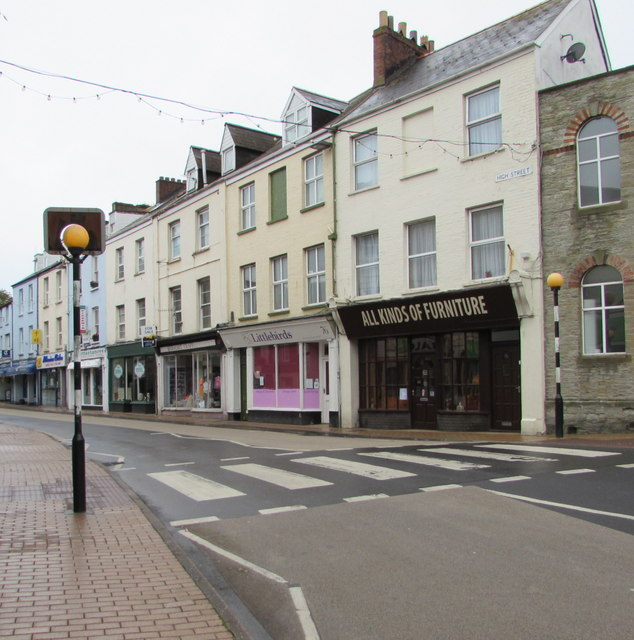 Zebra crossing, High Street, Ilfracombe