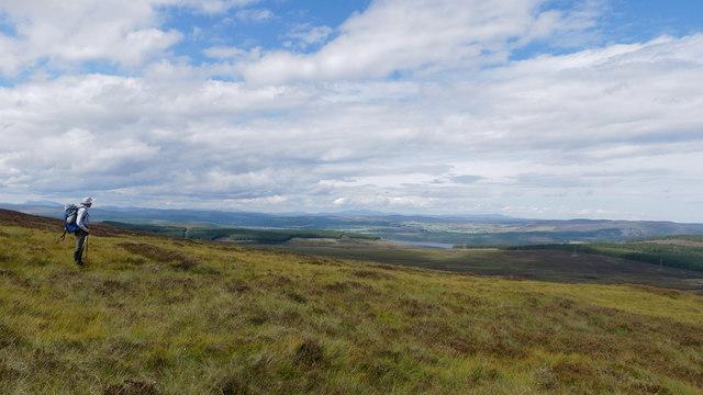 Hillside above Coirriefearn