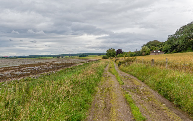 Track to St Columba's House