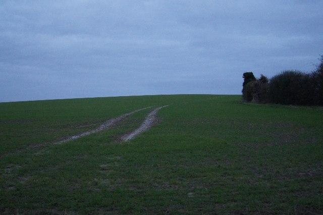 Farmland south of Fulbourn Fen