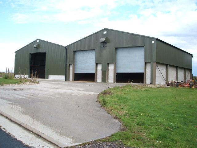 Farm buildings, Colleybridge Farm
