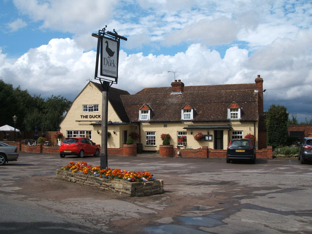 The Duck public house, Newney Green