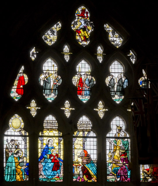 Nativity window, Exeter Cathedral