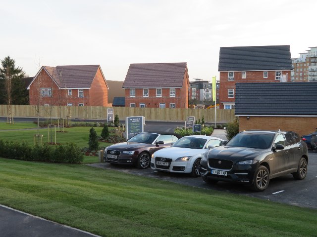 Show home parking