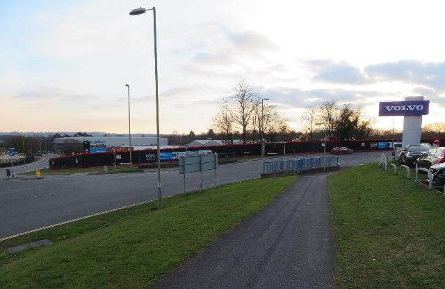 Houndmills Road / Brunel Road