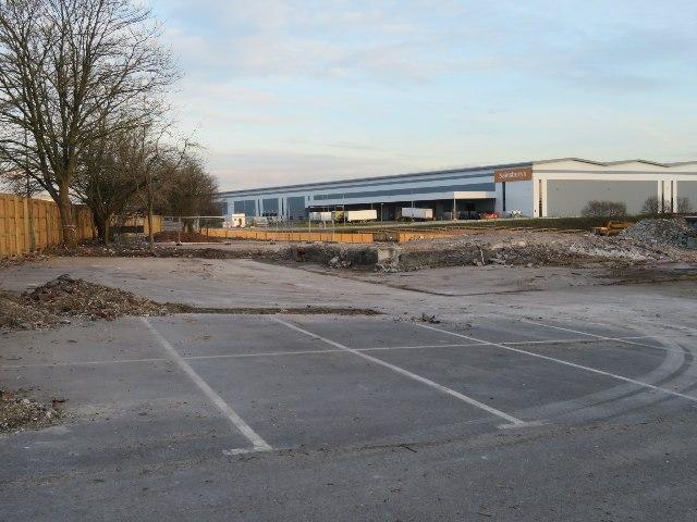 Brown field site - Brunel Road