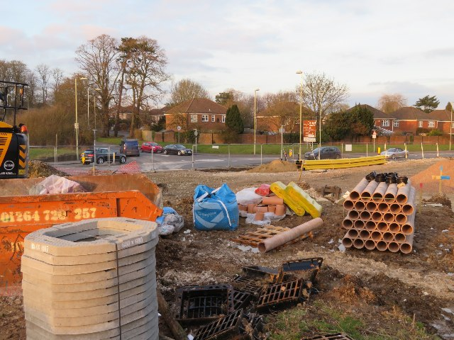 Building a new roundabout