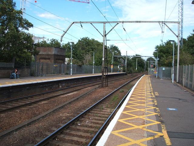Railway towards Colchester