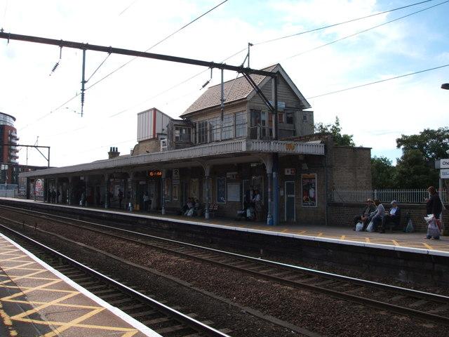 Station buildings, Platform 2, Chelmsford Railway Station
