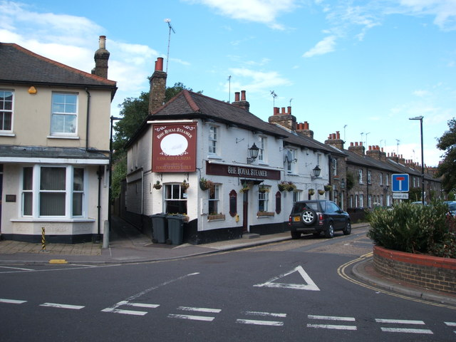 The Royal Steamer public house, Chelmsford