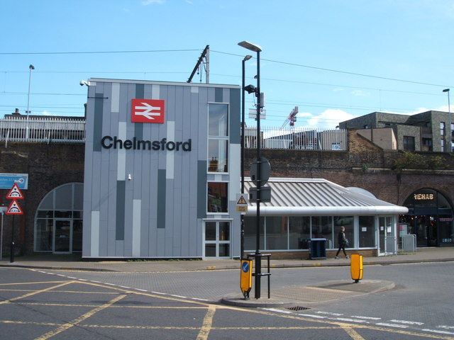 Entrance to Chelmsford Railway Station