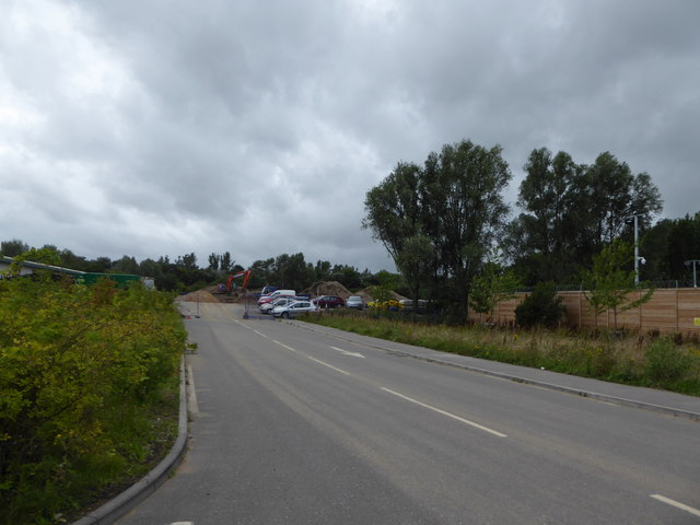 "Far end of the access road behind the ""Tip"""