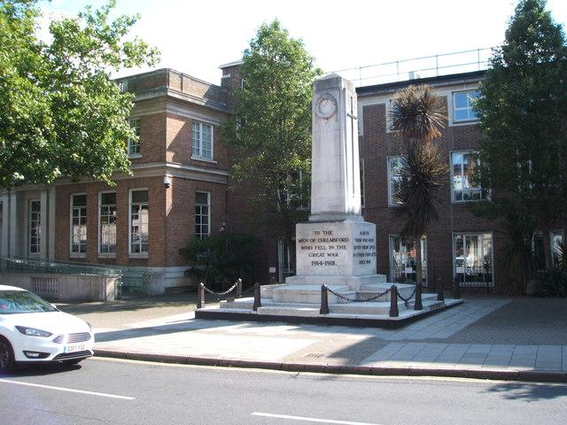 War Memorial, Chelmsford