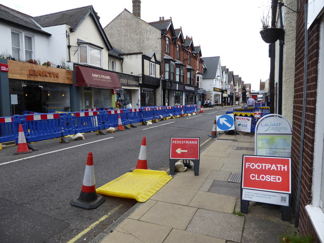 Roadworks in Petersfield (3)
