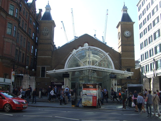 Entrance to Liverpool Street Railway Station