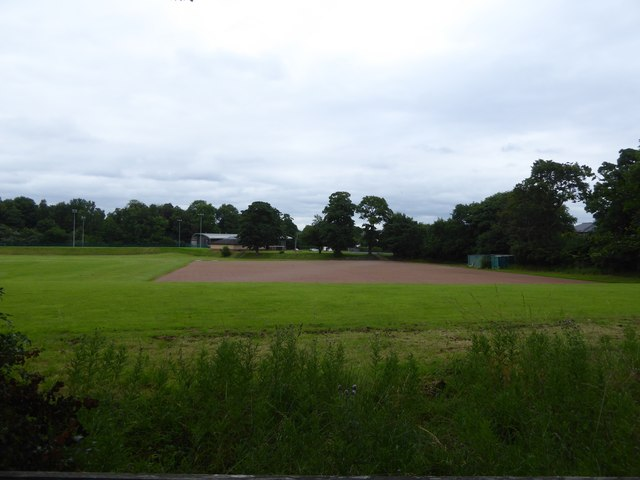 School playing fields at Pollok Country Park