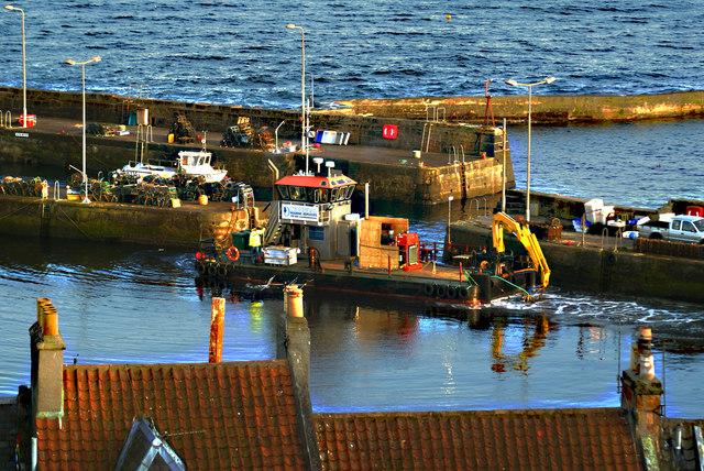 St Monans Harbour, East Neuk of Fife