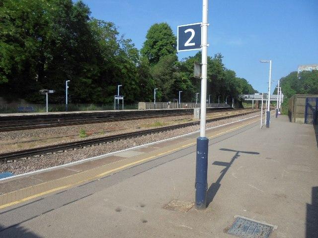 London direction - Farnborough station