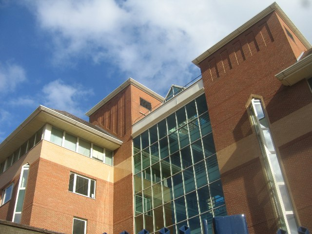 Office block by Farnborough station