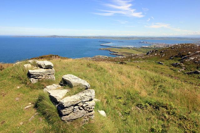 View towards Holyhead Breakwater