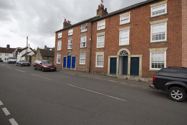 Three storey cottages