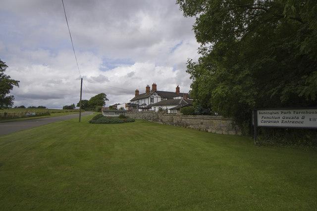 Donnington Park Farmhouse Hotel