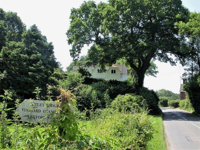 Petley Lodge in Whatlington village