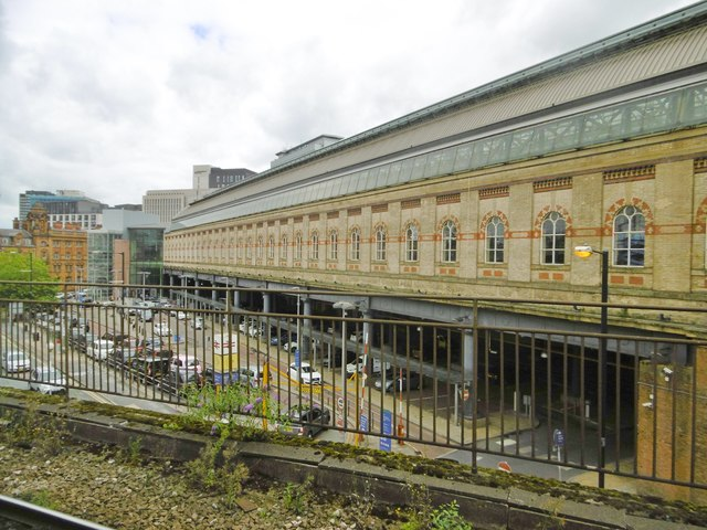 Manchester Piccadilly, train shed