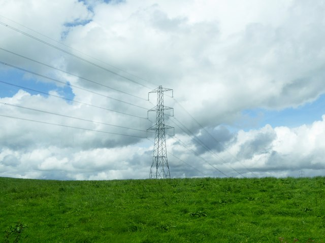 Field and pylon