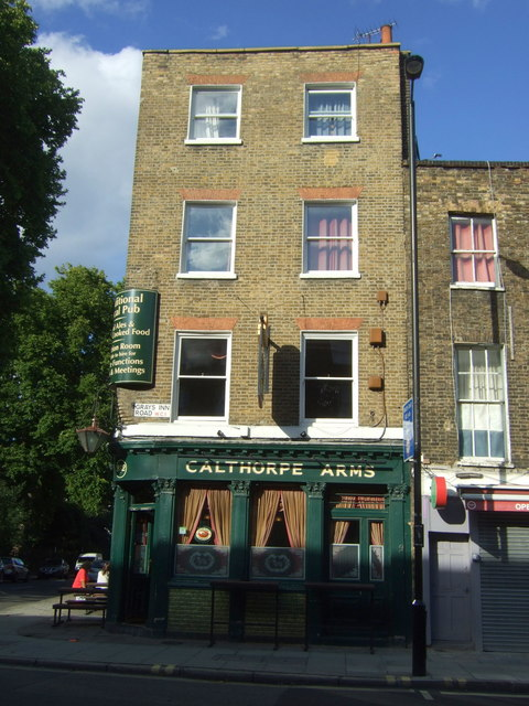The Calthorpe Arms, London