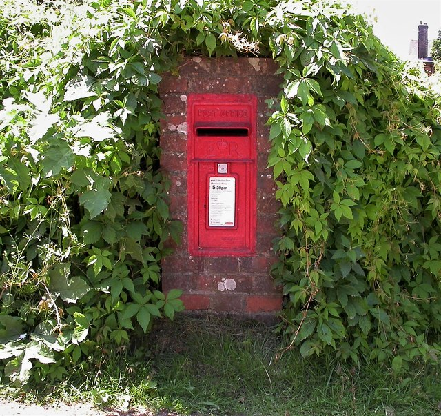 Letterbox by the Whatlington Road