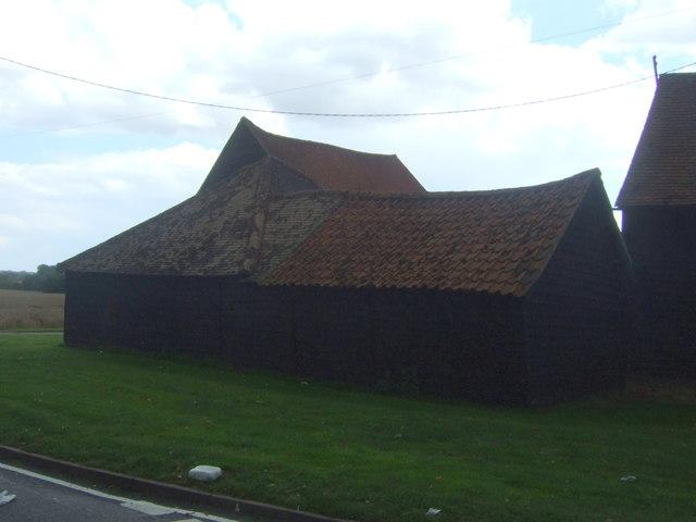 Farm buildings, Weald Lodge