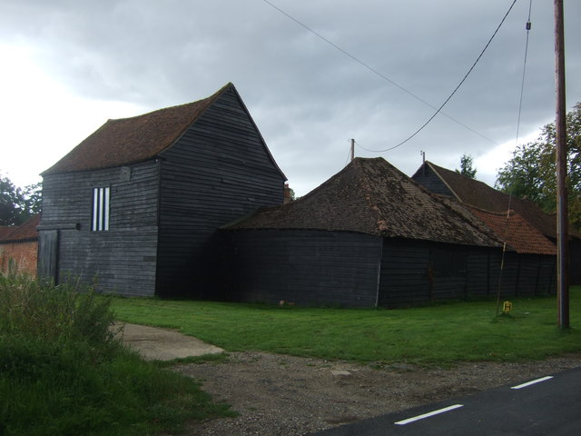Farm buildings, Weald Lodge