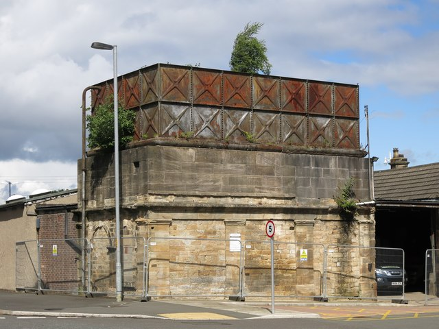 The old water tower at Hexham Station (3)