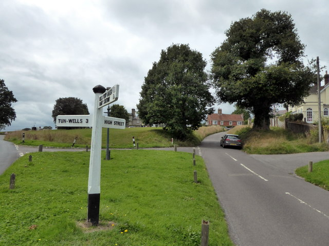Road Sign at High Street, Frant