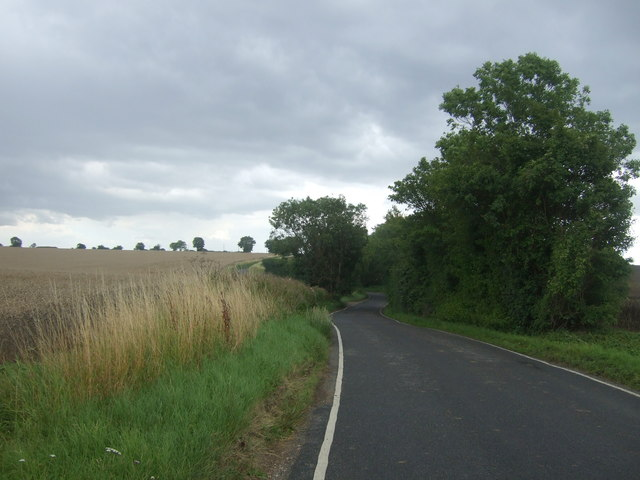 National Cycle Route 1 near Hill Farm