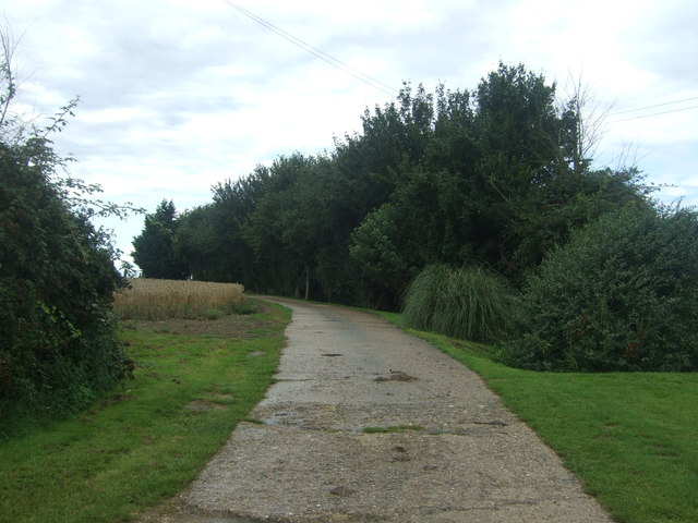 Farm track (footpath) off Willingale Road