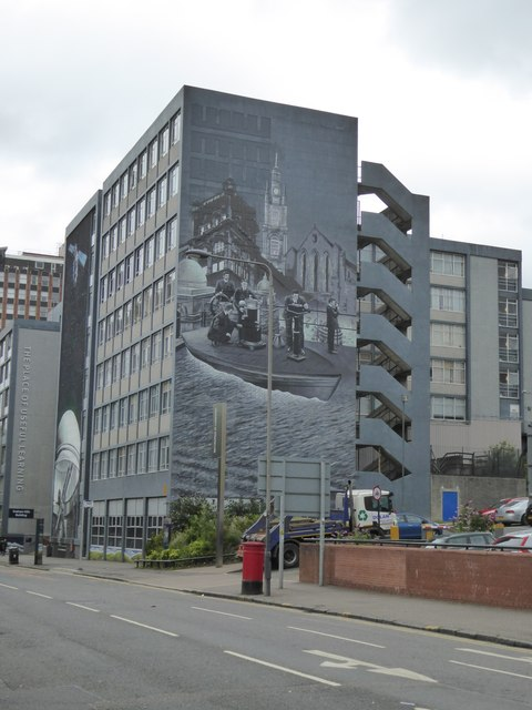 Maritime mural, Strathclyde University