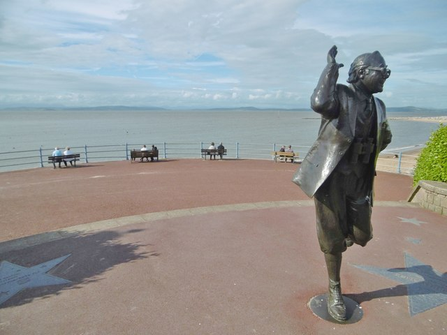 Morecambe, statue