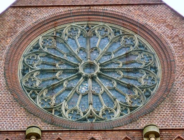 St Benedict's Rose Window