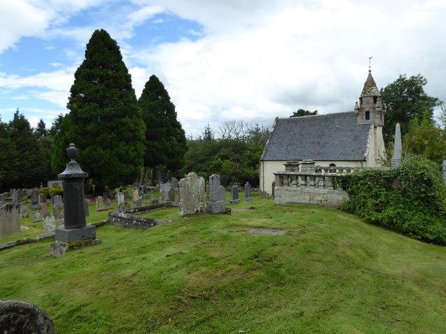 Wardlaw Mausoleum and cemetery, Kirkhill