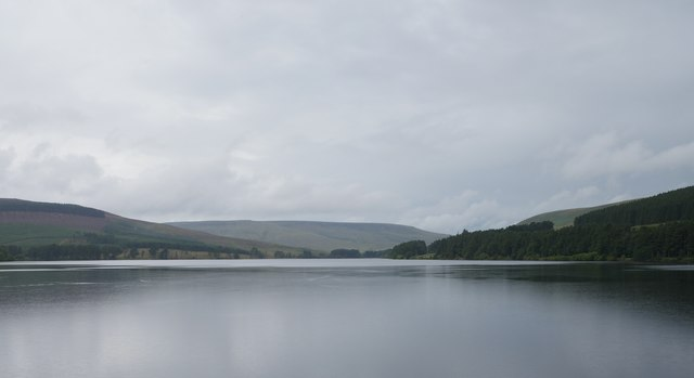 Catcleugh Reservoir From The Dam