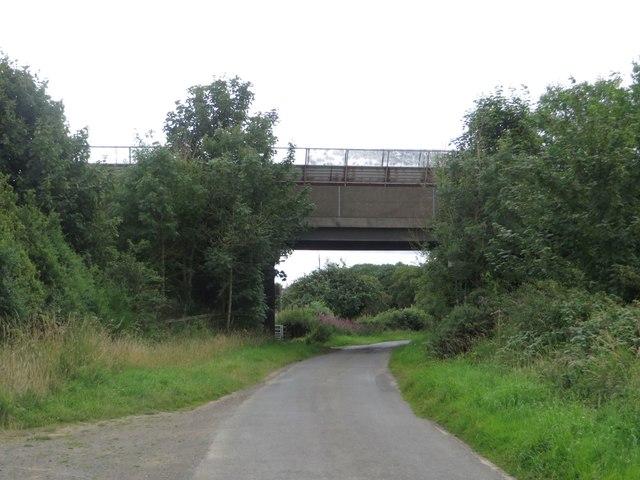 Coal haul road bridge