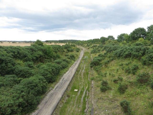 Former coal haul road