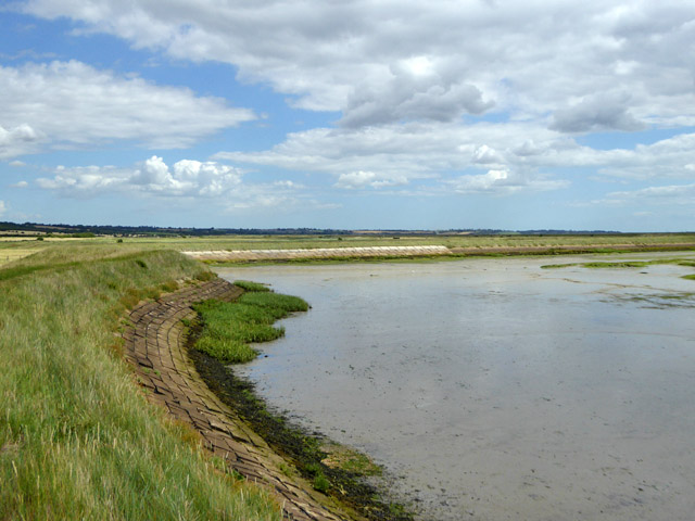 1907 seawall, Bluehouse Farm, North Fambridge