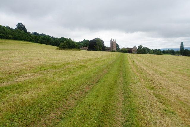 Path to Cothelstone
