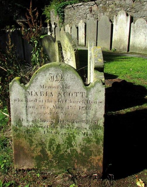 Gravestones, St Andrew's churchyard