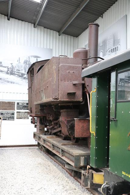 Statfold Barn Railway - unrestored locomotive