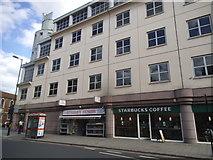 TQ3279 : Shops on Borough High Street by David Howard