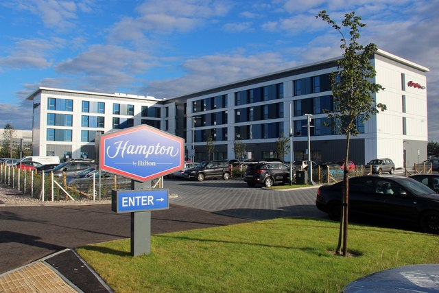 New hotel at Harvest Way, Dyce